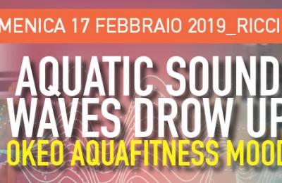 Aquatic sound waves drow up Okeo aquafitness mood